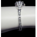 1950's PLATINUM AND DIAMOND LADIES WATCH - 3.4ct VVS  DIAMONDS- VALUED AT $10500