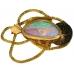 Gondwanaland 18K Yellow Gold Pendant featuring a Solid 5.80 Carat Opal