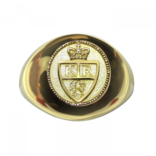 The King's Ring 18K Signet Ring