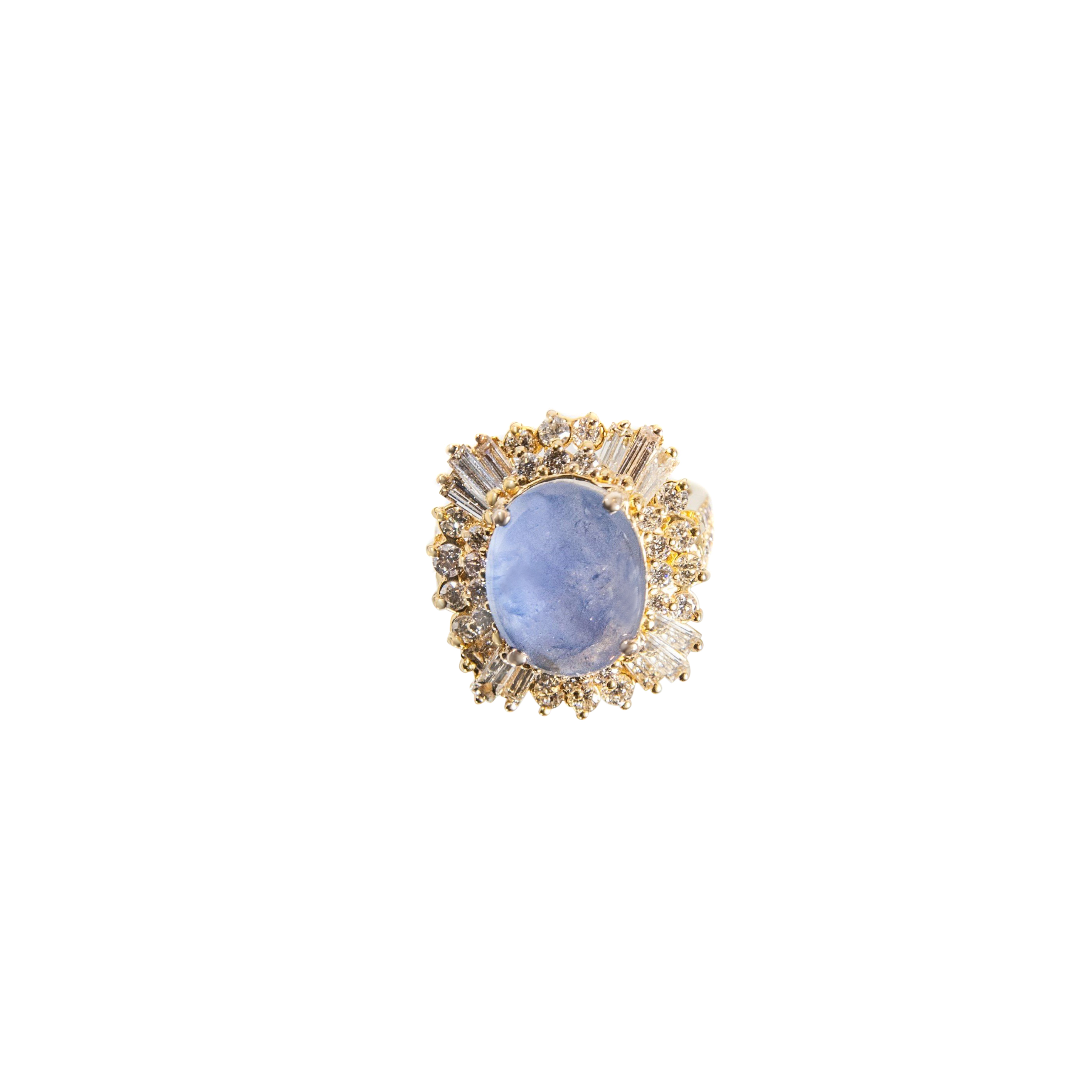 etsy natural blue sapphire pin star via ring pretty